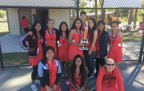 East girls tennis team competes and doesn't give in