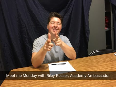 Meet Me Monday with Riley Rosser, Academy Ambassador