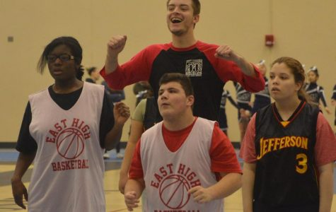 East Buddies Club participates for the first time in Special Olympics basketball tournament