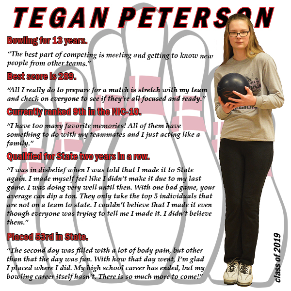 State-level athlete reflects on her bowling career