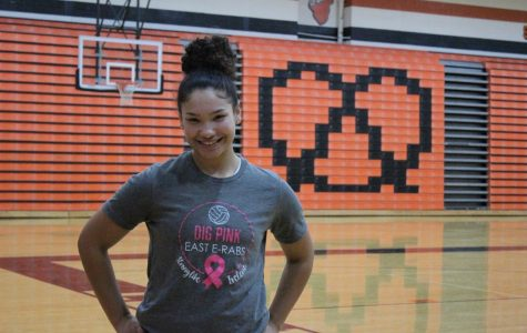 East volleyball team spreads awareness