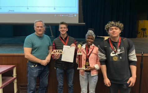 Students build for success in Bridge Building competition